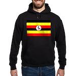 Uganda Flag Hoodie (dark)