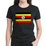 Uganda Flag Women's Dark T-Shirt
