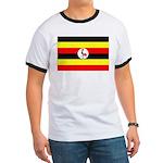 Uganda Flag Ringer T