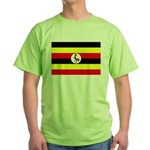 Uganda Flag Green T-Shirt