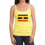 Uganda Flag Jr. Spaghetti Tank