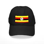 Uganda Flag Black Cap