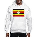 Uganda Flag Hooded Sweatshirt
