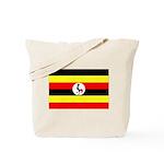 Uganda Flag Tote Bag
