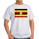 Uganda Flag Light T-Shirt