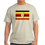 Uganda Flag Light T-Shirt