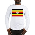 Uganda Flag Long Sleeve T-Shirt