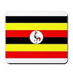 Uganda Flag Mousepad