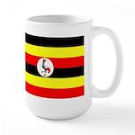 Uganda Flag Large Mug
