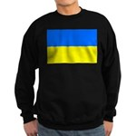 Ukraine Flag Sweatshirt (dark)