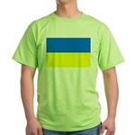 Ukraine Flag Green T-Shirt
