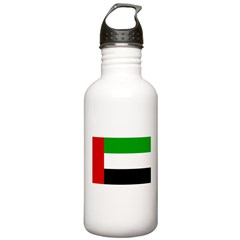 United Arab Emirates Flag Water Bottle