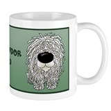 Big Nose Komondor Dad Small Mug
