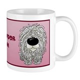 Big Nose Komondor Mom Small Mug