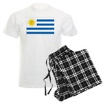 Uruguay Flag Men's Light Pajamas