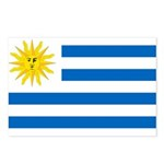 Uruguay Flag Postcards (Package of 8)