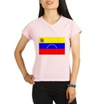 Venezuela Flag Performance Dry T-Shirt
