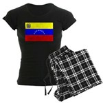 Venezuela Flag Women's Dark Pajamas