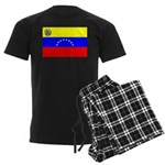 Venezuela Flag Men's Dark Pajamas