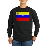 Venezuela Flag Long Sleeve Dark T-Shirt