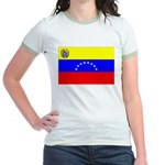 Venezuela Flag Jr. Ringer T-Shirt