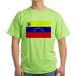 Venezuela Flag Green T-Shirt