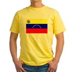 Venezuela Flag Yellow T-Shirt