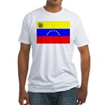 Venezuela Flag Fitted T-Shirt