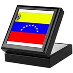 Venezuela Flag Keepsake Box