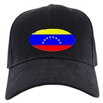 Venezuela Flag Black Cap