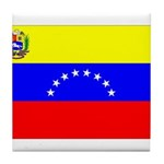 Venezuela Flag Tile Coaster
