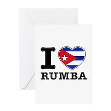 I love Rumba Greeting Card