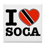 I love Soca Tile Coaster