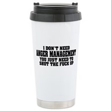 Anger Management Ceramic Travel Mug
