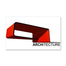 Architecture Car Magnet 20 x 12