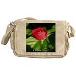 I Love You! Messenger Bag