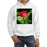 I Love You! Hooded Sweatshirt