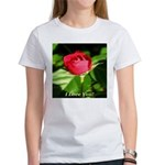 I Love You! Women's T-Shirt
