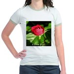 I Love You! Jr. Ringer T-Shirt