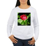 I Love You! Women's Long Sleeve T-Shirt