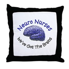 Neuro Nurse Throw Pillow