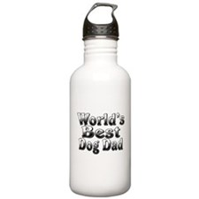 WORLDS BEST Dog Dad Water Bottle