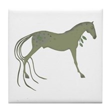 Cute Native american spirit Tile Coaster