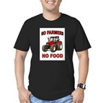 FEEDING THE WORLD Men's Fitted T-Shirt (dark)