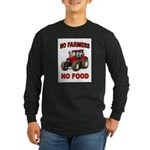 FEEDING THE WORLD Long Sleeve Dark T-Shirt