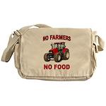 FEEDING THE WORLD Messenger Bag
