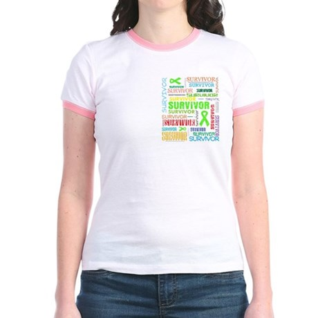Survivor Non-Hodgkin Lymphoma Jr. Ringer T-Shirt
