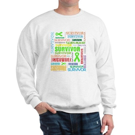 Survivor Non-Hodgkin Lymphoma Sweatshirt