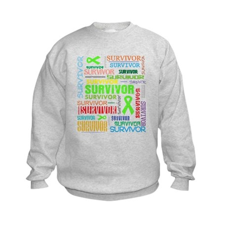 Survivor Non-Hodgkin Lymphoma Kids Sweatshirt