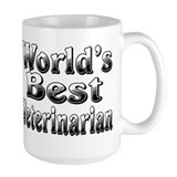 WORLDS BEST Veterinarian Mug
